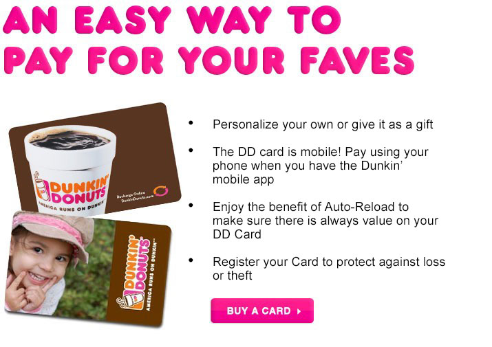 Dunkin Donuts accepts Bitcoin payments by gift card – InfoCoin